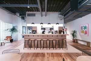 20180515 wework queens plaza   kitchens   wide 2