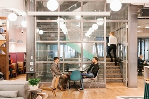 20180412 wework state street   common areas   internal staircase 3