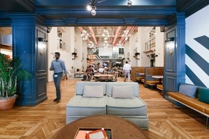 20180626 wework security building   common areas   couch area 1