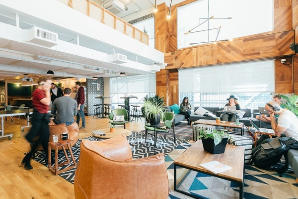 WeWork One City Center