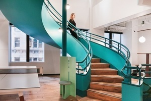 20180719 wework montgomery station   common areas   internal staircase 3