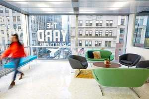 The yard bryant park ny coworking office lounge close up